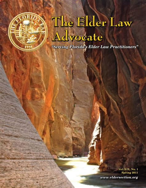 florida bar elder law section spring 2011 600x775 acf cropped elder law section of the