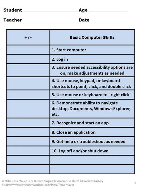 best 25 teaching computer skills ideas on