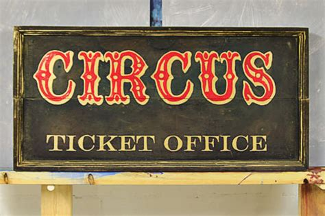 Circus Signs Template by How To Make Signs Vintage Inspired Circus Sign
