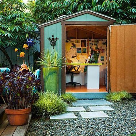 build backyard office backyard shed office you would love to go to work