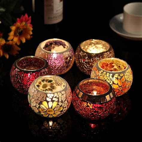 how to make decorative candles at home free shipping mosaic candle holders decorative for