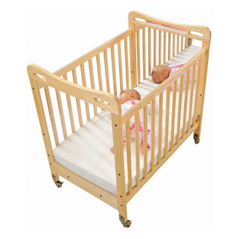 Crib Mirror by Safe Sound Fixed Side Mirror Compact Crib
