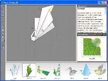 origami program paper folding 3d create origami designs with