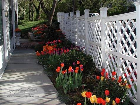 Bathroom Designers Nj spring tulips and trellis design traditional landscape