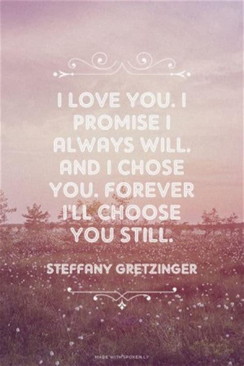 promise  love   quotes quotesgram