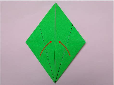 tutorial membuat origami bunga tulip moemoy situs belajar kerajinan 2d dan 3d