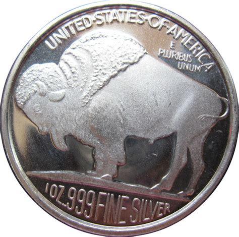 1 Oz Silver Bar Buffalo Liberty Silver Perak Batangan 1 oz silver silvertowne mint buffalo exonumia numista