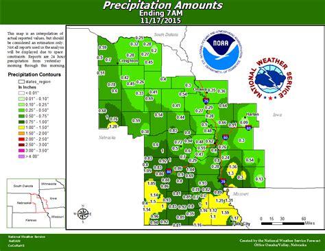 rainfall totals lincoln ne rainfall totals ending november 17th