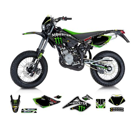kawasaki kmx 125 dekor beta rr 50 125 graphics series tmx graphics