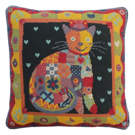 The Patchwork Cat - cushion designs jolly