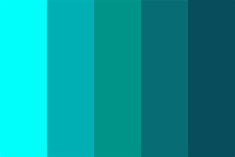 sea color pretty sea color palette