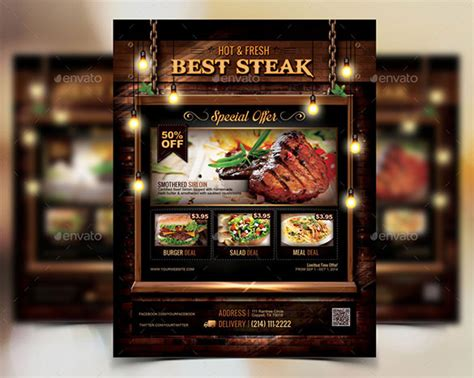 Restaurant Flyer Templates 65 Free Word Pdf Psd Eps Indesign Format Download Free Restaurant Ad Template