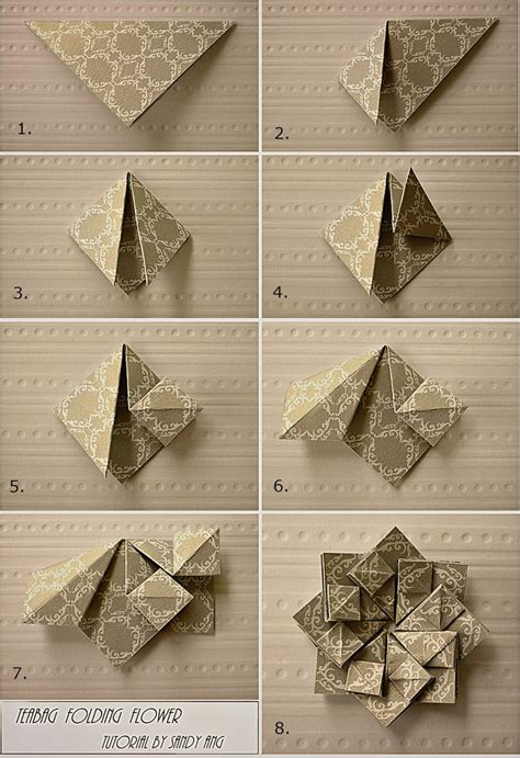 Revealed Flower Origami - 276 best images about origami on origami