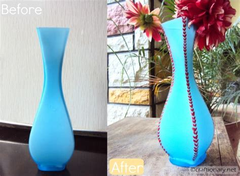 How To Paint Vases Ideas by Craftionary