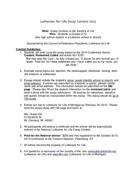 Essay Writing Contests For High School Students 2015 by Lfl Essay Contest High School
