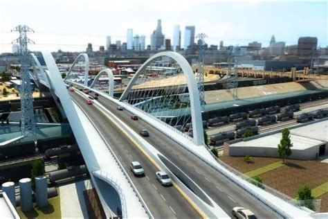 city announces new design for sixth street bridge kcet la officials release animation of 6th street viaduct