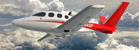 cirrus SF50 vision personal jet soars above all private