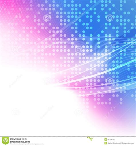 wallpaper pink blue white abstract bright pink blue white background stock vector