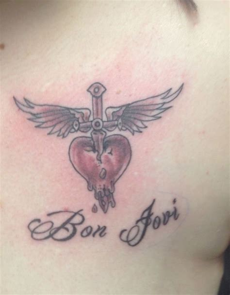 bon jovi tattoo 17 best images about bon jovi tattoos on bon