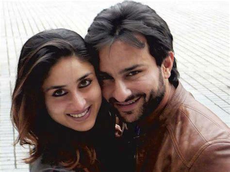 Saif Ali Kareena Kapoor   saif ali khan and kareena kapoor complete one year of