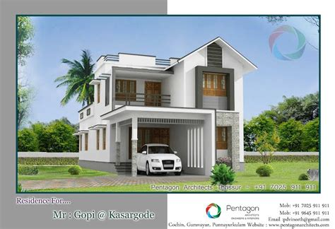 kerala home design double floor beautiful double floor kerala home plan 2050 sq ft