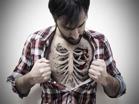 funny tattoos for men cool chest designs for free hd wallpapers