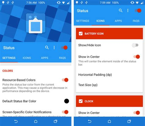 best app to customize android 3 android apps to customize status bar and notification bar