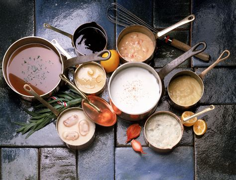 basic mother sauces  french cuisine