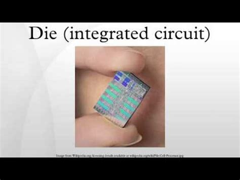 dies integrated circuit definition die integrated circuit