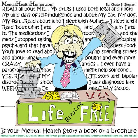 mental health story  book   brochure mental health humor