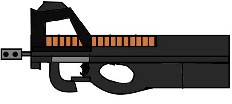 What Is Meant By The Iron Curtain Walfas Custom Prop Fn P90 By Myonnyanmukyuu On Deviantart