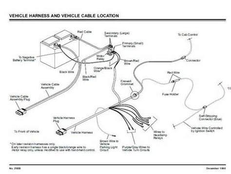 meyer snow plow wiring harness fisher plow light wiring