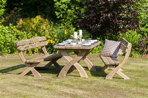 garden bench set harriet table 2 bench dining set garden furniture land