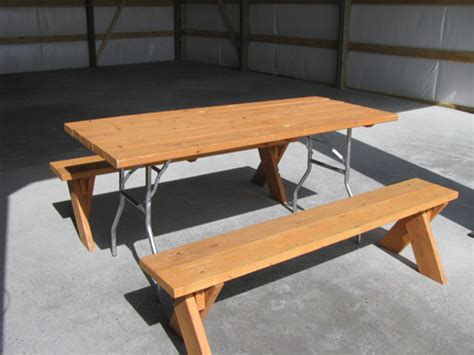 picnic bench rental table 27x68 picnic table only no benches robin event