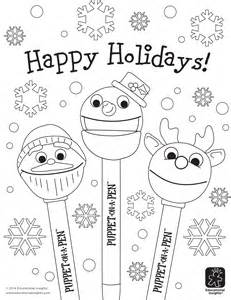 happy holidays coloring pages free happy coloring pages beyond the chest