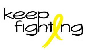 bone cancer color yellow bone cancer ribbon health awareness