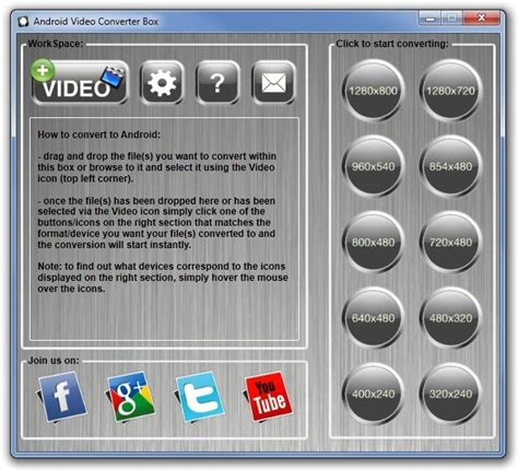 video file format supported by android convert videos to a format resolution supported by your