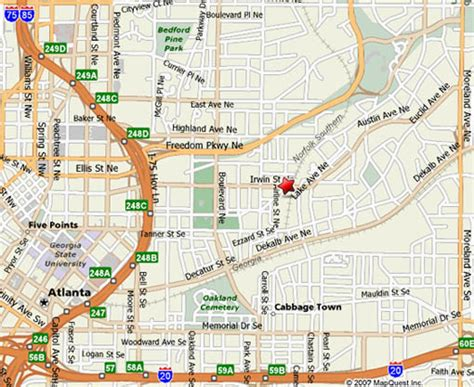 map city irwin market