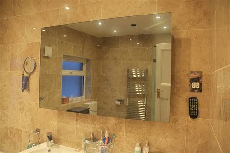 bathroom mirror tv screen 42 quot bathroom mirror tv tech2o televisions