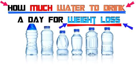 how much water should a drink a day how much water should you drink a day to lose weight