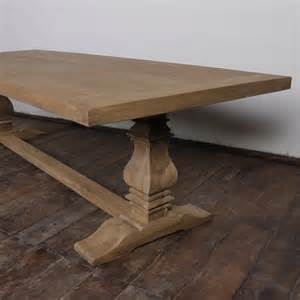 trestle dining table picture uploaded: this distressed trestle dining table picture uploaded by admin after