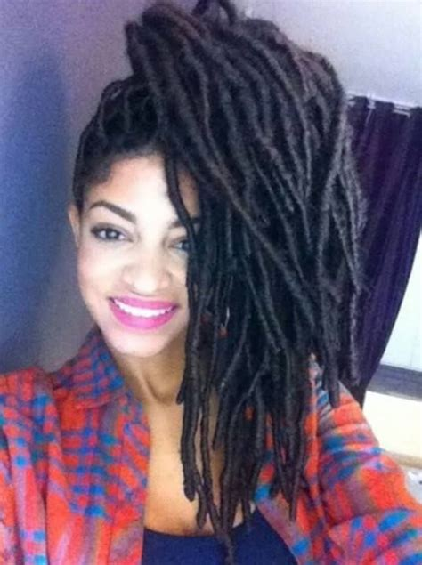 faux yarn dreads on natural hair 27 best genie locs yarn wraps obsessed images on