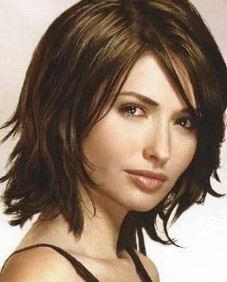 hairstyles for fine medium length hair pictures medium length haircuts for fine straight hair