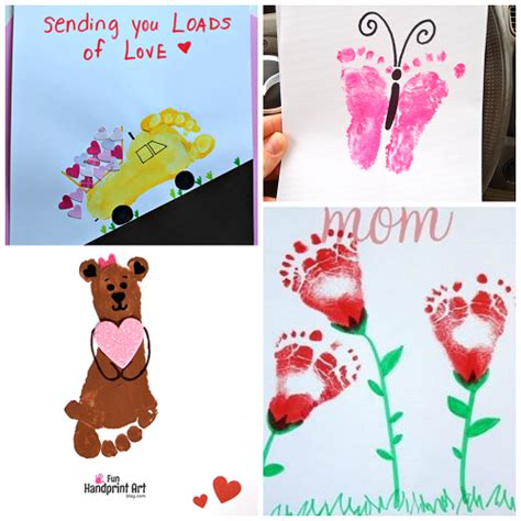 footprint crafts for footprint s day crafts for crafty