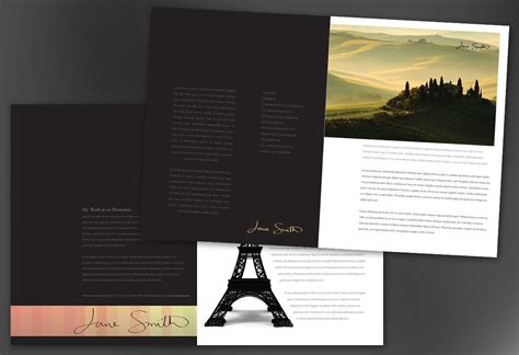 custom brochure templates custom brochure templates 2 best agenda templates
