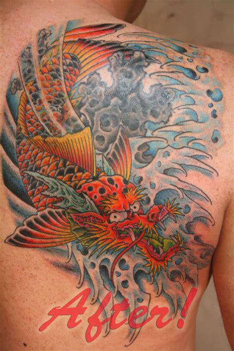koi dragon tattoo koi dragon tattoos