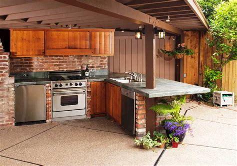 desain dapur semi outdoor 24 desain dapur terbuka semi outdoor menghadap taman