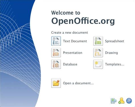 Openoffice Free Download V4 1 1 For Windows Open Office Softlay Open Office Templates Presentation