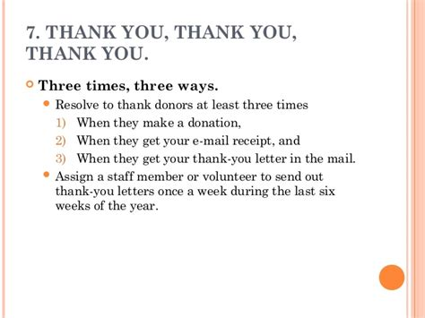 Thank You Note For Donation In Honor Philanthropy Year End Giving Programs