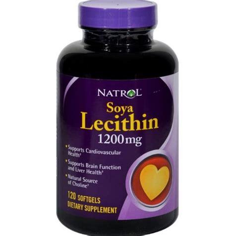 Suplemen Lechitin natrol soya lecithin suplemen trigliserida